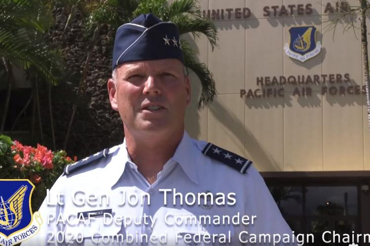 Thumbnail image from Lt General Thomas's CFC Video